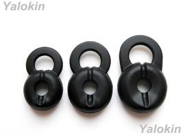 BLACK EARBUDS GEL LG HBM210 HBM310 HBM520 HBM530 HBM570 - $9.16