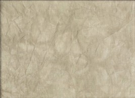 FABRIC CUT 16ct toasted almond aida 12x10 TO THE BEACH series Hands On Design - $7.00