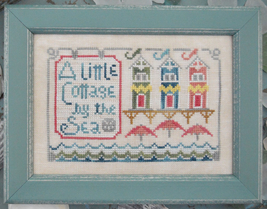 A Little Cottage To The Beach Series #2 cross stitch chart Hands On Design - $5.40