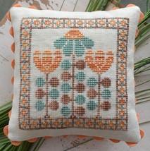 Mid Century Gardens #2 cross stitch chart Hands On Design - $5.40