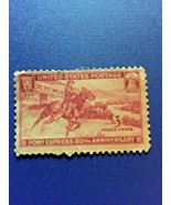 Pony Express stamp 1940 Historic Stamp 3 Cents 80th Anniversary Horse Mail - $9.90