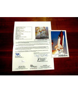 NEIL ARMSTRONG APOLLO 11 FIRST MAN ON THE MOON SIGNED AUTO INVITATION JS... - $2,474.99