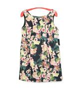 Adrianna Papell Womens Dress Scuba A-Line Size 20W Black Pink Floral Str... - $89.05