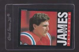 1985 Topps Craig James #328 - $3.50