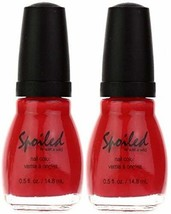 WET N WILD Spoiled Nail Color LOX-Y LADY (PACK OF 2) (Plus a Free Nail F... - $9.79
