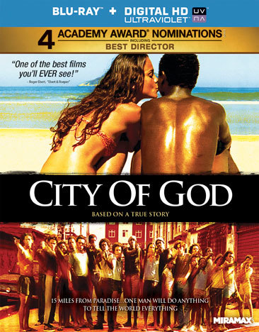 City Of God (Blu Ray) (Eng Sub/Fren Sub/Portugures/5.1 Dts/Uv Digital Copy)