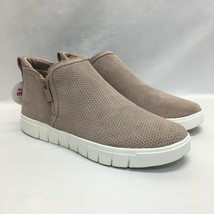 Ryka Suede Side-Zip Sneakers, Hensley, Quartz, US Size 9M (New with Defects/NWB) - $62.99