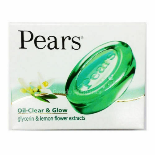 3 X Pears Oil Clear Transparent Soap With Lemon Flower Extracts 125gm FS
