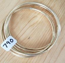 790 Plain Gold Bangles (New) - $8.58