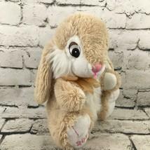 "Dan Dee Collectors Choice 14"" Bunny Rabbit Plush Tan Brown Soft Stuffed Animal - $14.84"