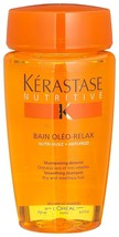 Kerastase Nutritive Smoothing Shampoo Bain Oleo-Relax 8.5oz For Dry And ... - $28.11