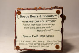 Boyds Bears: Ms. Libearty... Wants You Too! - Style 01998-21 - Special F.O.B image 7