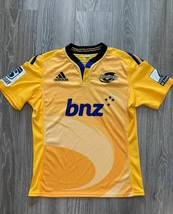 Hurricanes Jersey Shirt Adidas  Super Rugby Team 2015 Wellington New Zeland L - $30.51