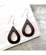 Open Tear Drop Earrings - $23.00