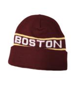 Boston College Adult Unisex Maroon Cuffed Beanie, One Size - $9.89