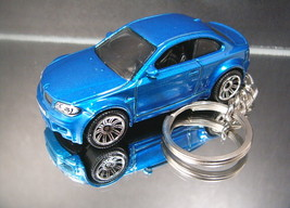 2010 BMW M1 Coupe Key Chain Ring Blue - $14.24