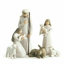Willow Tree Nativity, sculpted hand-painted nativity figures, 6-piece set - $79.18