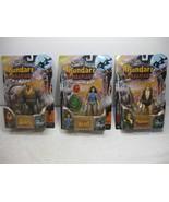 Thundarr The Barbarian, Ookla, Ariel Complete Set Figure - Toynami 2003 FS - $314.44