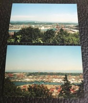 Vtg Industrial Montana? Aerial 2 Real Photos Postcard Sz Eckerd Drug Kodak Film - $9.78