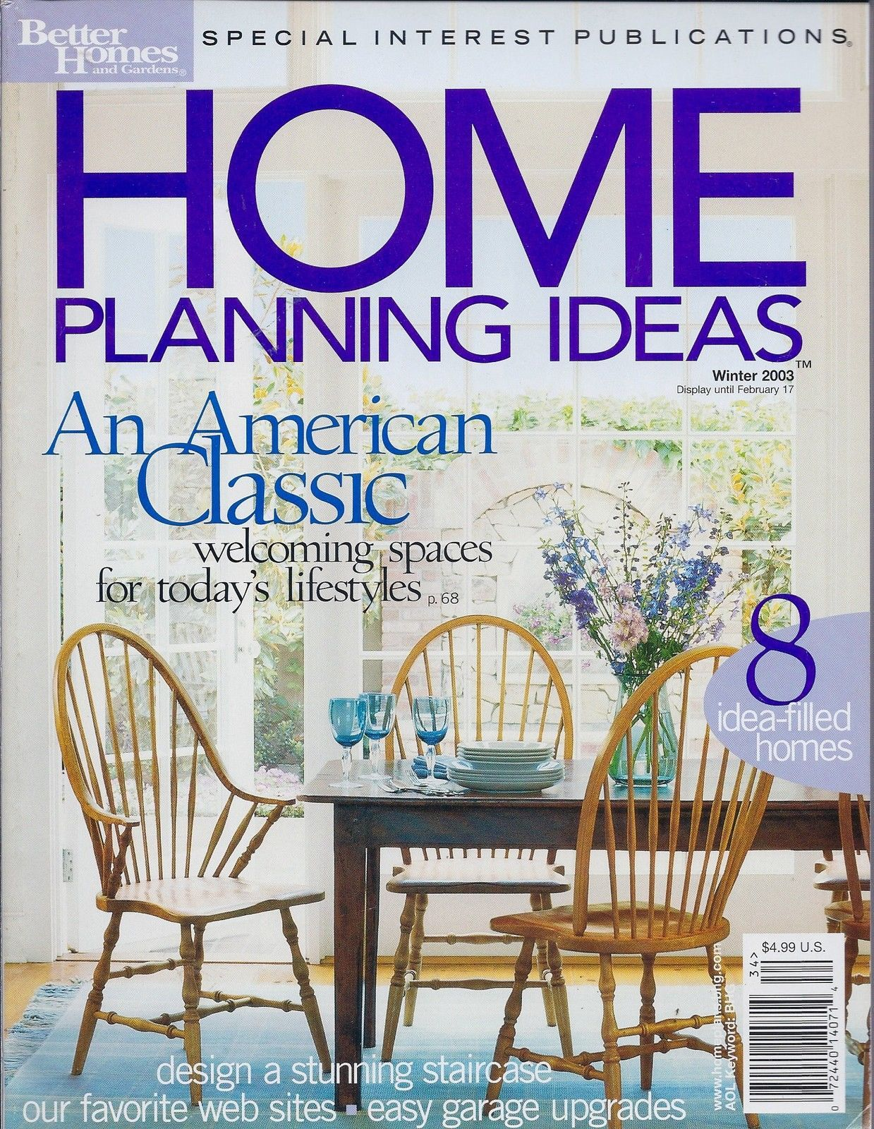 Primary image for Better Home and Garden HOME PLANNING IDEAS Magazine / Winter 2003