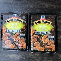 McCormick Grill Mates Baja Citrus Marinade Mix New 1oz X 2 - $13.93
