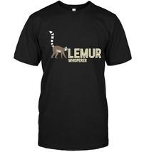 Lemur Whisperer Love Lemurs Animals Zoo Wildlife Funny Tee - £14.22 GBP+