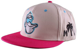 Cousins Miami Cool Pelican Fisherman Captain Palm Tree Snapback Baseball Hat NWT image 9