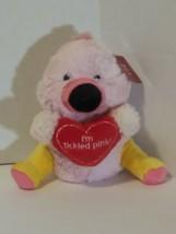 "Plush Pink Flamingo 8"" Stuffed Animal Toy I'm tickled pink new cute I am... - $12.77"