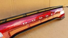 11-14 Dodge Charger Trunk Lid Center Tail Light Taillight Lamp Panel image 5