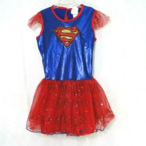 Rubies Supergirl Tutu Dress Girls Size M Blue Dress-up Halloween Costume... - $9.89