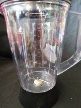 BLACK+DECKER Replacement 6-Cup Glass Jar pitcher Black New with Blades P... - $16.74