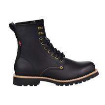 Levis Baxter Leather Men's Shoes Black 516995-01A - $74.95