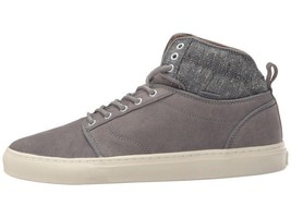 VANS Alomar (Tweed) Gray UltraCush Leather Skate Shoes MEN'S 8 image 2