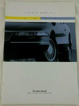 1994 Lincoln Mark VIII Model Showroom Original Sales Brochure Catalog 35... - $5.99