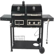 Dual Fuel Gas & Charcoal Combo Grill - $243.07