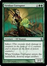 Magic The Gathering-Mirrodin Besieged-Viridian Corrupter - $0.15