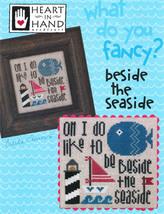 Fancy: Beside The Sea cross stitch chart Heart In Hand  - $7.20