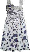 Isobella & Chloe Big Girls Tween 7-16 Gradient Dot Print Empire Waist Dress