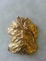 Greenman Solid Bronze Pendant Pagan Norse - $21.99