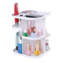 EtechMart Countertop Plastic Rotating Cosmetic ... - $29.69