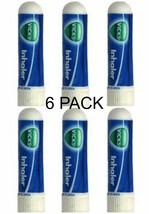 6 x .5ml Vicks Inhaler Allergy Cold Nasal Blocked Nose Relief Congestion... - $14.00