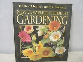 Better homes and gardens new complete guide to gardening 1997 hardcover nonfiction Better homes and gardens planting guide