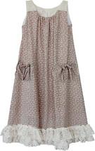 Isobella & Chloe Little Girls 4-6X Dainty Daisy A-Line Sleeveless Dress