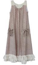 Isobella & Chloe Big Girls Tween 7-16 Dainty Daisy A-Line Sleeveless Dress