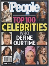 People Magazine Special: Top 100 Celebrities Who Define Our Time [Paperb... - $10.95
