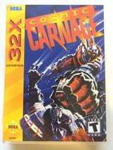 Cosmic Carnage - Sega 32X - Replacement Case - No Game - $5.93