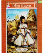 Fibre Craft's Indian Princess Crochet Pattern L... - $6.75