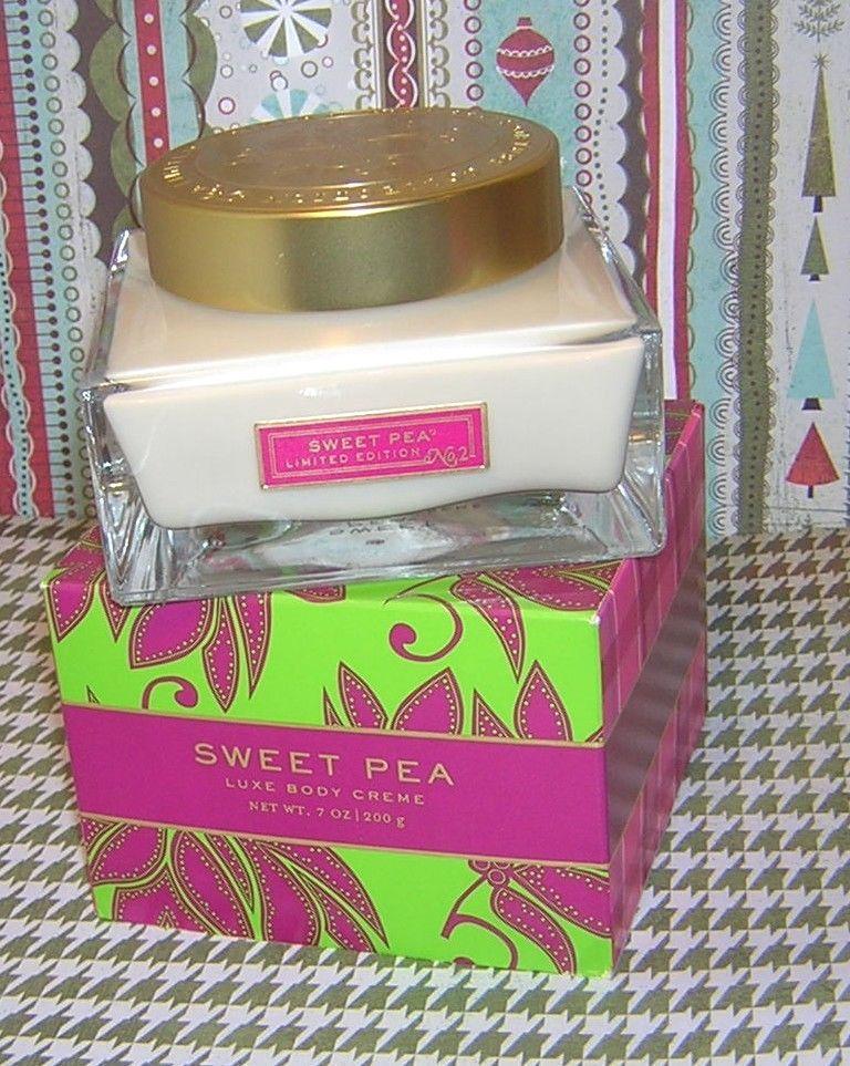 Sweet pea luxe cream