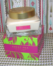 Bath & Body Works Sweet Pea Luxe Body Cream in Beautiful Glass Jar..7 oz... - $50.00