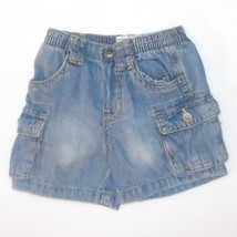 The Childrens Place Toddler Boys Jean Shorts Size 3-6 Months NWT - $6.49